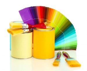 استفاده از محصول NSG Z90 در رنگ های آکریلیک