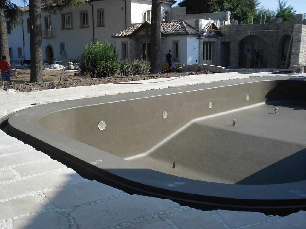 Waterproofing For Pools : آب بندی استخر با محصولات شرکت nsg آموزش و نحوه